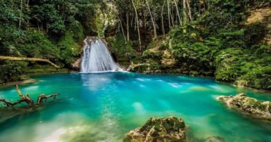 beautiful jamaican scenery
