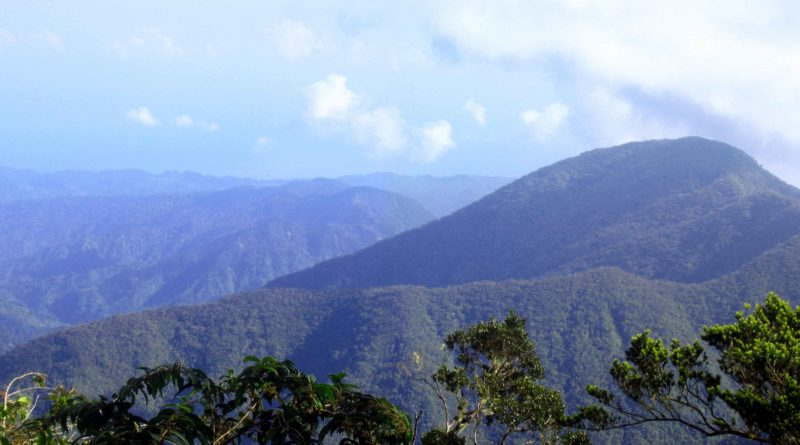 Major Mountains in Jamaica