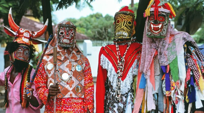 john canoe jamaican dancers